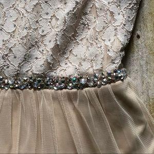 🆕 Speechless Prom Wedding Formal Tulle Dress NEW